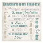 Bathroom Rules A