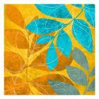 Aqua Leaves 2
