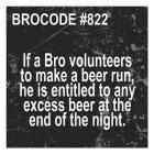 Bro Code 822
