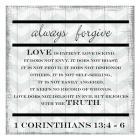 Always Forgive