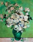 A Vase of Roses, 1890