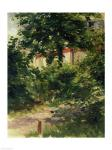 A Corner of the Garden in Rueil, 1882