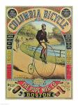 Advertisement for the Columbia Bicycle