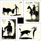 Picasso's Bullfight Set (set of four prints)