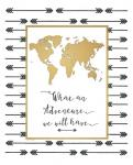 Faux Gold Map