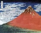 Hokusai - Red Mt Fuji