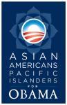 Barack Obama - (Asian Americans for Obama) Campaign Poster