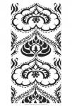 B&W Arabesque Panels II