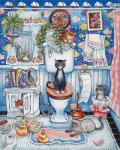 Bathroom Cats