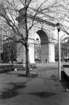 Arc de Triomphe in Washington Square Park