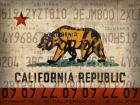 Cali State Flag License Plates
