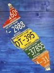 Aruba License Plate Map
