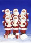 Caroling Santas