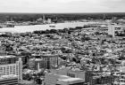 Aerial River (b/w)