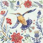 Birds and Flowers I