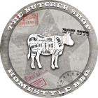 American Butcher Shop Round Cow