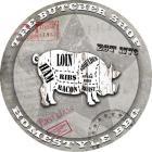 American Butcher Shop Round Pig