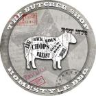 American Butcher Shop Round Sheep