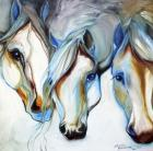 3 Nobles Equine Abstract