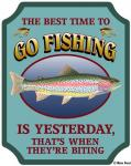 Best Time To Go Fishing