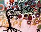 Black Tree Swirl