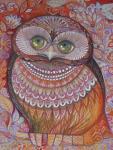 Gold Honew Owl