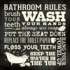 Bath Rules B&W