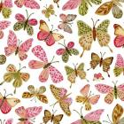 Bright Pink Butterflies