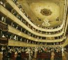 "Auditorium In The """"Altes Burgtheater"""", 1888"