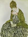 Edith Schiele Seated, 1915