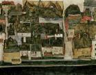 The Small City IV  (Krumau On The Moldau), 1914