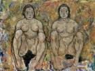 Squatting Women, 1918