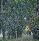 Tree-Lined Road Leading To The Manor House At Kammer, 1912