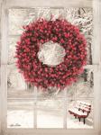 Beaded Wreath View I