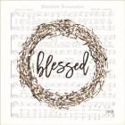 Blessed Assurance Bless Wreath
