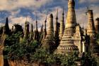 Ancient Ruins of Indein Stupa Complex, Myanmar