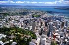 Auckland skyline, New Zealand