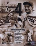 Lou Gehrig - Legends of the Game Composite