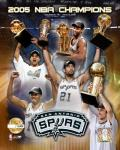 "'04 - '05 Spurs NBA Champions / Composite ""PF GOLD"" (Limited Edition)"