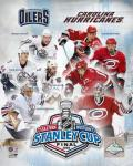 '06 - Stanley Cup Matchup Composite Oiilers Vs. Hurricanes