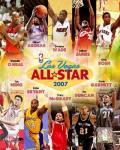 2007 - NBA  All Star Game Matchup Composite