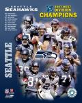 2007 Seattle Seahawks AFC West Division Champs