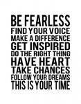 Be Fearless 1