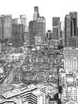 B&W Us Cityscape-Los Angeles