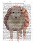 Ballet Sheep 1 Book Print
