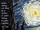 Great Things - Van Gogh Quote