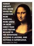 Human Subtlety -Da Vinci Quote