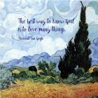 Know God - Van Gogh Quote 1