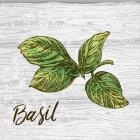 Basil on Wood