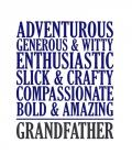 Adjectives for Grandpa